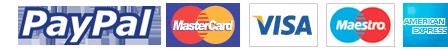 pague a hospedagem e serviços com cartão débito / crédito ou boleto